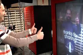 Latest Vending Machine Trends Cool Trends Coke Looks To Make Peace Between Nations Via Interactive