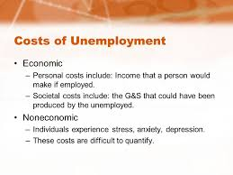Cost Of Unemployment Chapter 14 Unemployment By Jonathan Jones Costs Of
