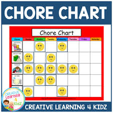 Autism Chore Chart Chore Chart Autism Worksheets Teaching Resources Tpt