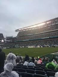 Philadelphia Eagles Seating Chart Lincoln Financial Field Section 106 Home Of Philadelphia