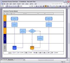 Business Flow Chart Template Word Business Process Design Templates Ms Word Excel Visio