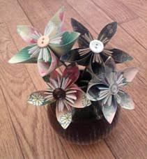 Paper Flower Arrangements