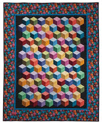 3d Quilt Patterns Amazing 48d Quilt Patterns Abc 48 D Tumbling Blocks And More Quilt With Marci