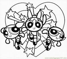 Small Picture Powerpuff Girls Coloring Pages to Print DIY Domestic Pinterest