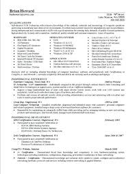 Example Achievements For Resume Resume Accomplishments Sample Homely