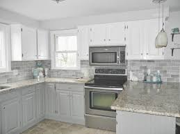 Tile Backsplash With Dark Cabinets Signedbyangecom