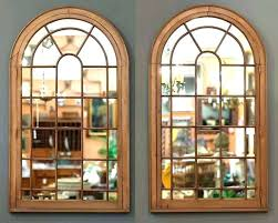 arched window wall decor window wall mirror large arched window pane mirrors h 3 4 x w