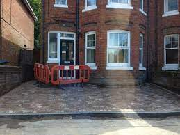 front garden conversion to drive how