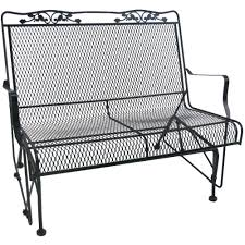 wrought iron patio table and 4 chairs. Patio Ideas: Wrought Iron Table Walmart Glenbrook Black Glider Furniture And 4 Chairs