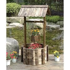 Amazon.com : Grand Wishing Well Planter - Inspires Grand-Scale Wishing :  Garden & Outdoor