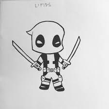 Deadpool 10 My Doodles Pinterest