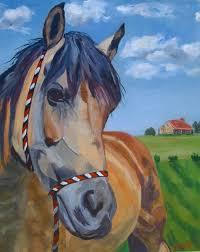 portrait of a buckskin horse poppy s paradise by
