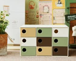 small office drawers. nine cell small desktop storage drawers box for office school supplies treasures collectionsin boxes u0026 bins from home garden on s