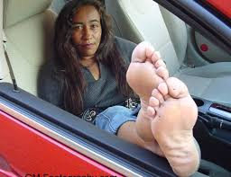 Black female fetish foot