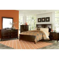 furniture melbourne. melbourne 4-piece queen bedroom set - cherry furniture e
