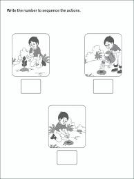 Picture Sequence Worksheet Worksheets Kindergarten Sequencing Esl ...