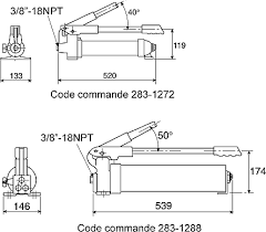 p39 enerpac p39 ultima series single speed hydraulic hand pump steel hand pump