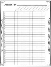 Free Printable Grading Chart For Teachers Editable Grade Sheets And Checklists For Teachers
