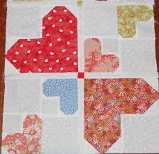 57 best Quilts: Hearts images on Pinterest   Valentines ... & Crazy random hearts Adamdwight.com