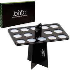 bmc 26 mix makeup brush holder organizer folding collapsible air drying tower walmart
