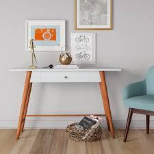 minimalist furniture. STYLECASTER | Minimalist Furniture Shopping Target Amherst Mid-century Modern One Drawer Writing Desk