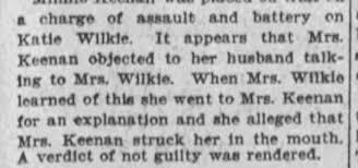 Minnie Keenan assault - Newspapers.com