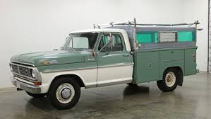 Skaug Bed Equipped: 1970 Ford F250 Camper Special