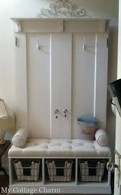 Entry Hall Coat Rack Extraordinary Hallway Bench With Coat Rack Bench Hall Tree Stand With Bench Entry