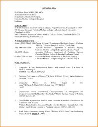 Sample Resume For Doctor Cna Samples Secretary Mbbs Format Pdf