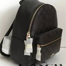 Coach Bags - NWT Coach Charlie Signature Backpack F58315