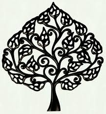 items home office. Handmade Wall Hanging Tree Motif In Mdf Black Color Decorating Items Home Office D Cor