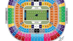 True To Life Panther Stadium Seat View Panther Stadium Seat Map