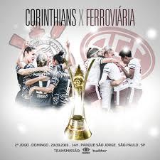 Corinthians e Ferroviária protagonizam finalíssima do Brasileiro Feminino  A1 - Confederação Brasileira de Futebol