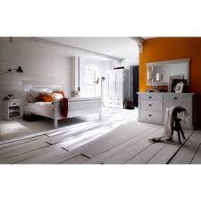 Landhaus Schlafzimmer Lacromas In Weiß Komplett Pharao24de