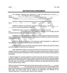 Employment Termination Agreement Inspiration 48 Common Law Separation Agreement Form Bc Free Legal Template