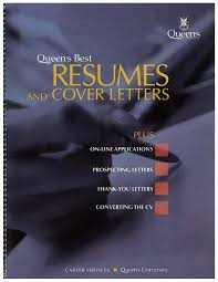 queen's best resumes and cover letters, book cover
