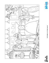 Small Picture Barbie tries dresses on coloring pages Hellokidscom