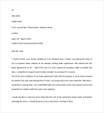 Lease Renewal Letter To Tenant Template 12 Lease Renewal Letter Templates Pdf Word