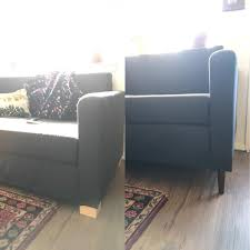 simple ikea couch leg