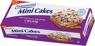 Entenmanns Minis Crumb Cakes Hy Vee Aisles Online Grocery Shopping