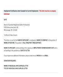 Letterhead For Employment Work Verification Letter Template Example Social Letterhead Work