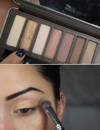 step 1 apply your base eyeshadow pinit you