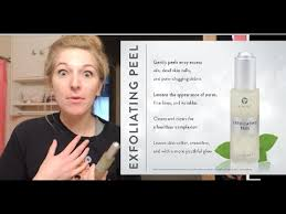 it works exfoliating peel before and after it works exfoliating peel first impression youtube