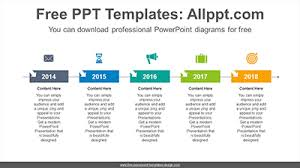 Power Point Time Line Template Free Powerpoint Timeline Diagrams