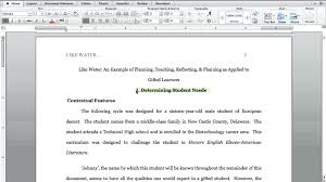 Mla Research Proposal Research Proposal Template Mla