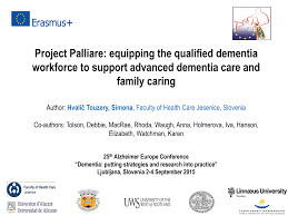Project Palliare: equipping the qualified dementia workforce to support  advanced dementia care and family caring