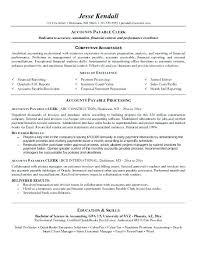 Accounts Payable Receivable Resume Sample Best of Account Payable And Receivable Resume Accounts Receivable Resume