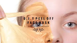 diy l off face mask without gelatin photo 1