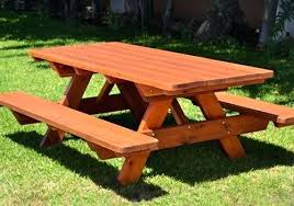 wooden outdoor table plans. Wooden Outdoor Furniture Solid Timber Garden And Picnic Tables In Table Plans