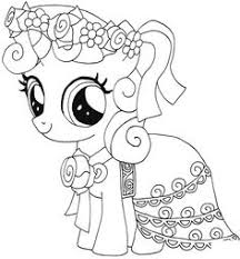 30 Best Black And White Pony Images Images Coloring Pages My